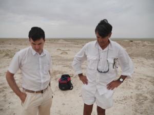 Dr Michael Pittman and Dr Jason Ali of HKU